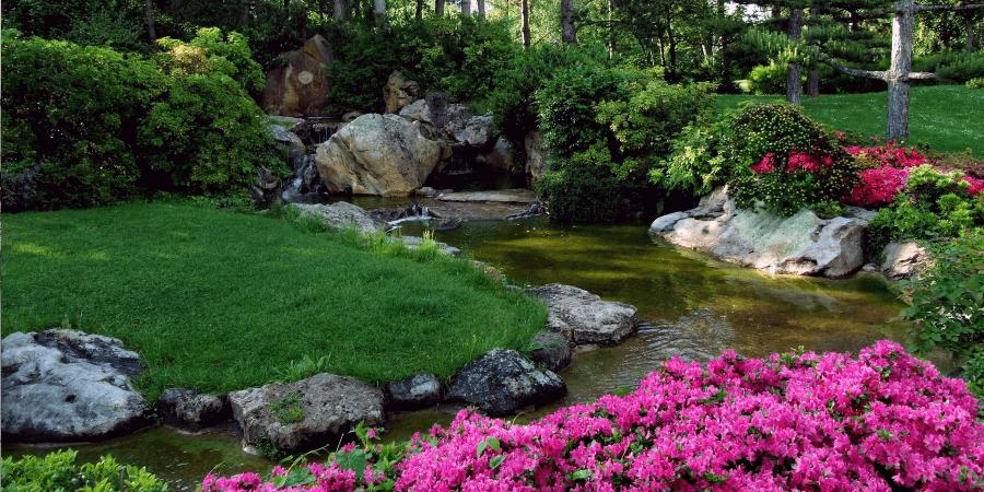 Восточные стили сада