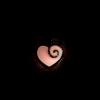 Кулон Сердце с веточкой