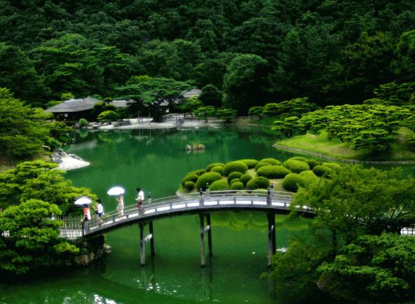 Восточные сады: отличия Китайского и Японского стиля