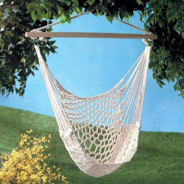 Вязаные и плетеные кресла