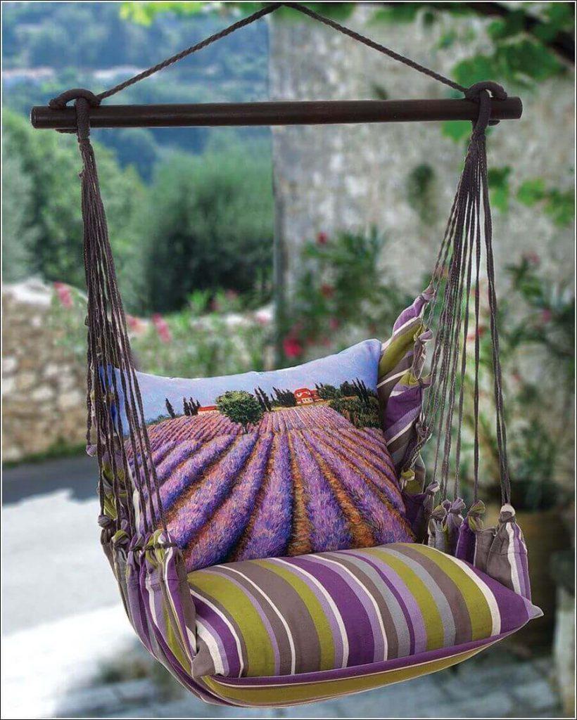 Садовые кресла из ткани