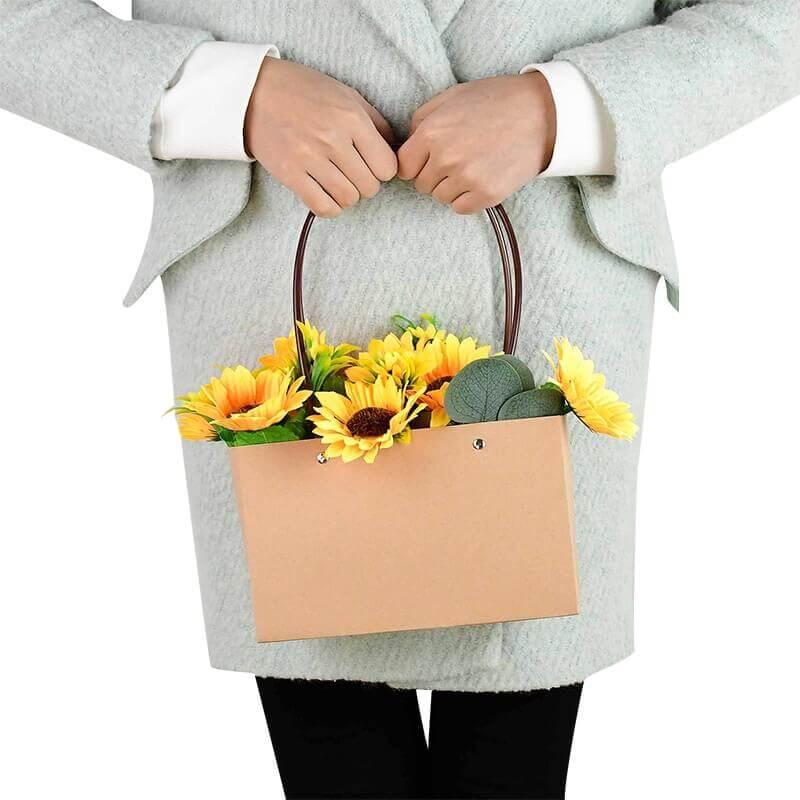 Подарочные сумки для цветов