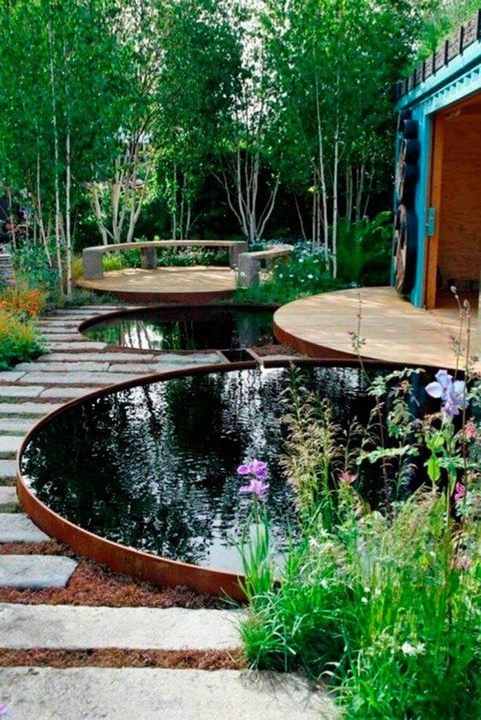 Вода в ландшафтном дизайне сада